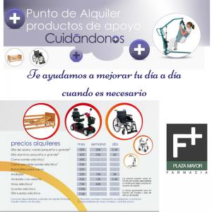 Cuidandonos Alquiler Ayudas Tecnicas Farmacia Plaza Mayor Zamora
