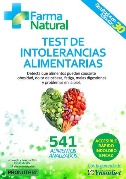 test intolerancias alimentarias | farmacia plaza mayor