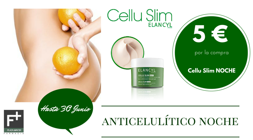 Cellu Slim anticelulítico noche Farmacia Plaza Mayor